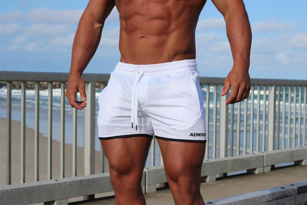 Adonis Gear Envy Shorts - White