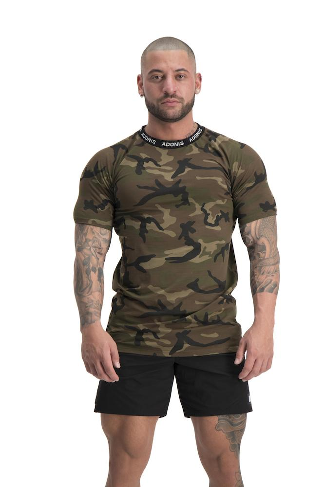 Adonis Gear Pursuit T-Shirt - Camo