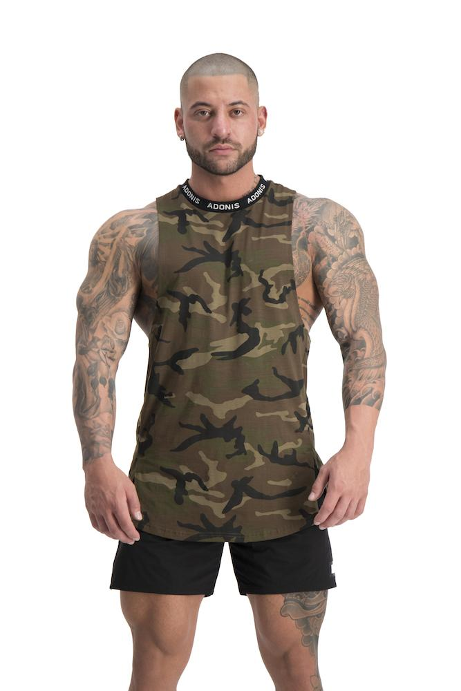 Adonis Gear Pursuit Tank - Camo