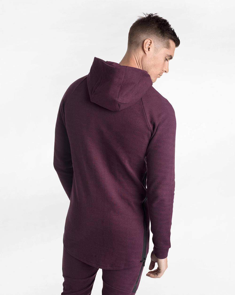 Biink CrossFleece 1/4 Zip Hood - Port