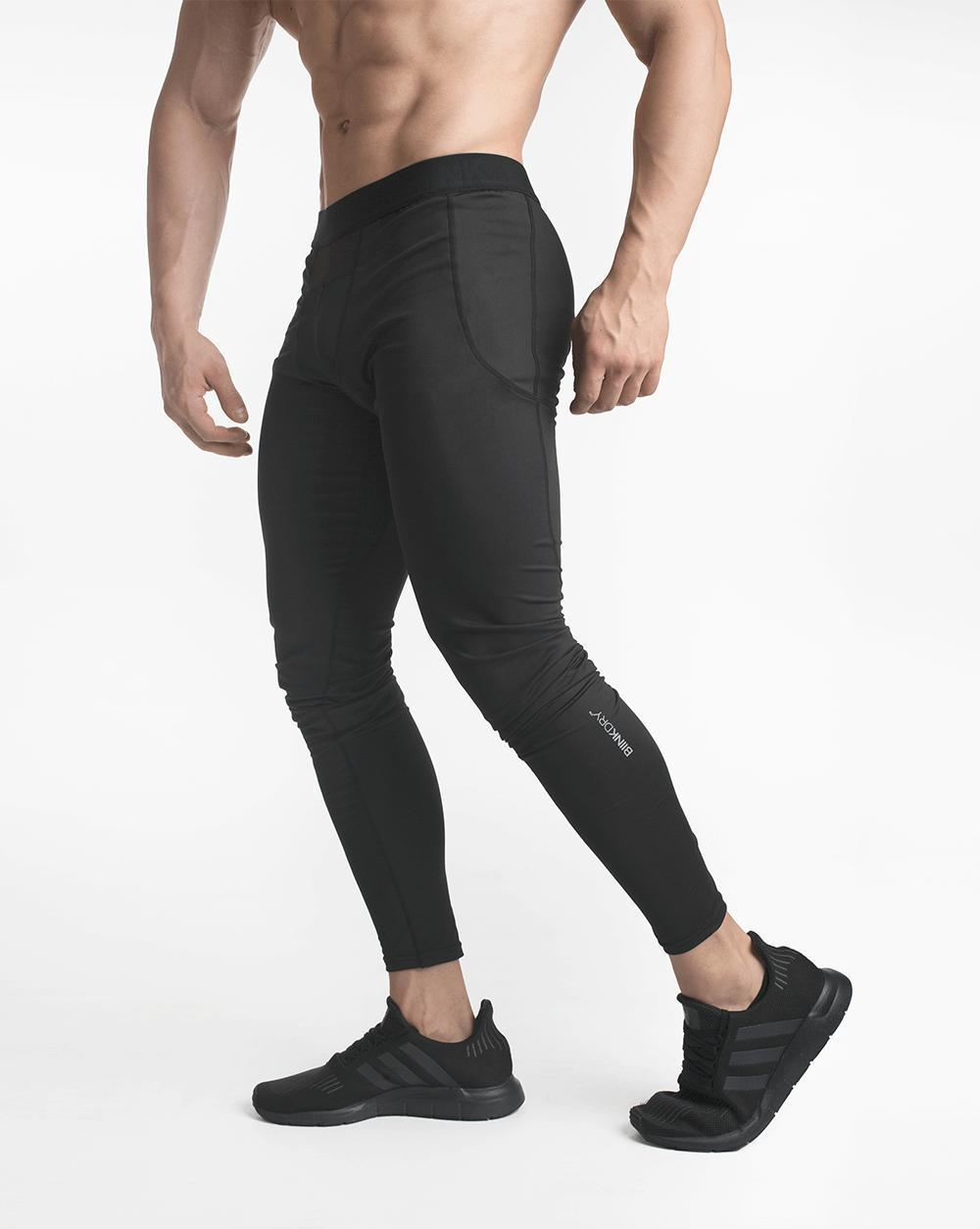 Biink DRY Training Tights - Stealth Black