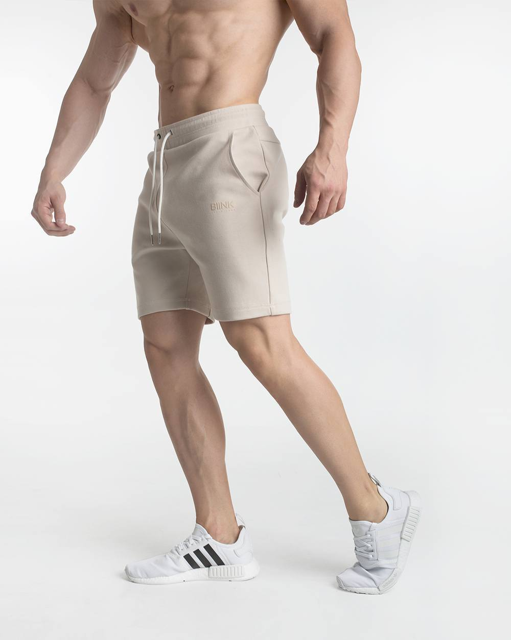 Biink Imperial Fitted V2 Shorts - Cream