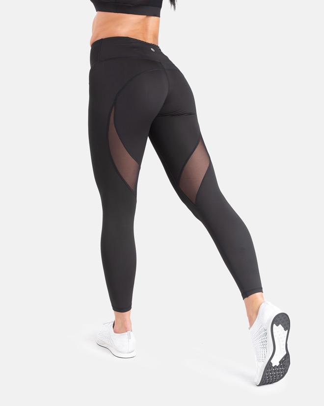 Biink Staple Mesh Leggings - Black