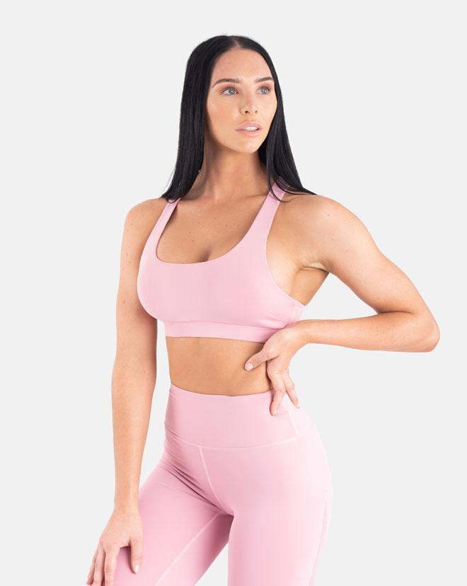 Biink Staple Mesh Sports Bra - Lilac