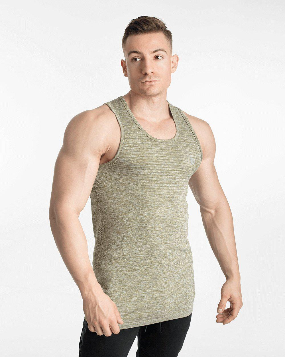 Biink VaporX Seamless Knitted Tank - Military