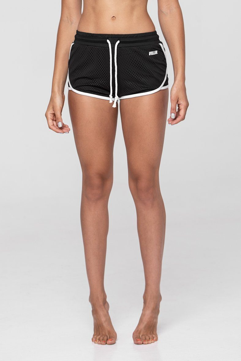 Brick City Villin Player Mesh Shorts - Black