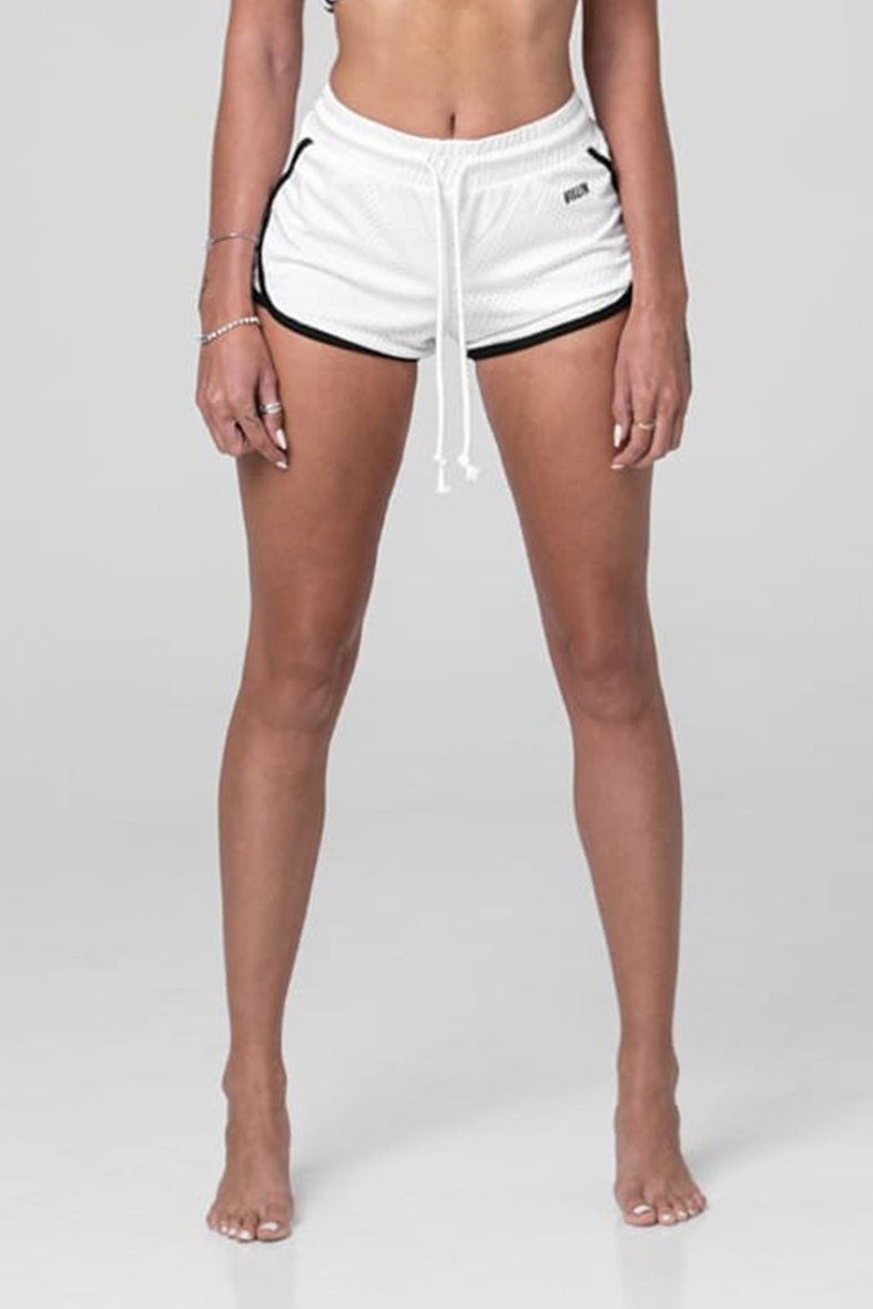 Brick City Villin Player Mesh Shorts - White