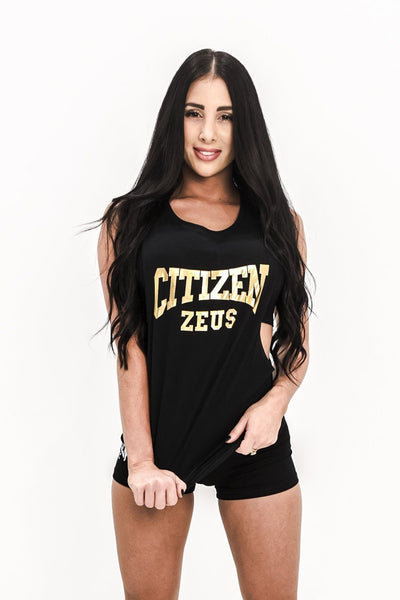 Citizen Zeus Lowrider Sleeveless Tee - Black