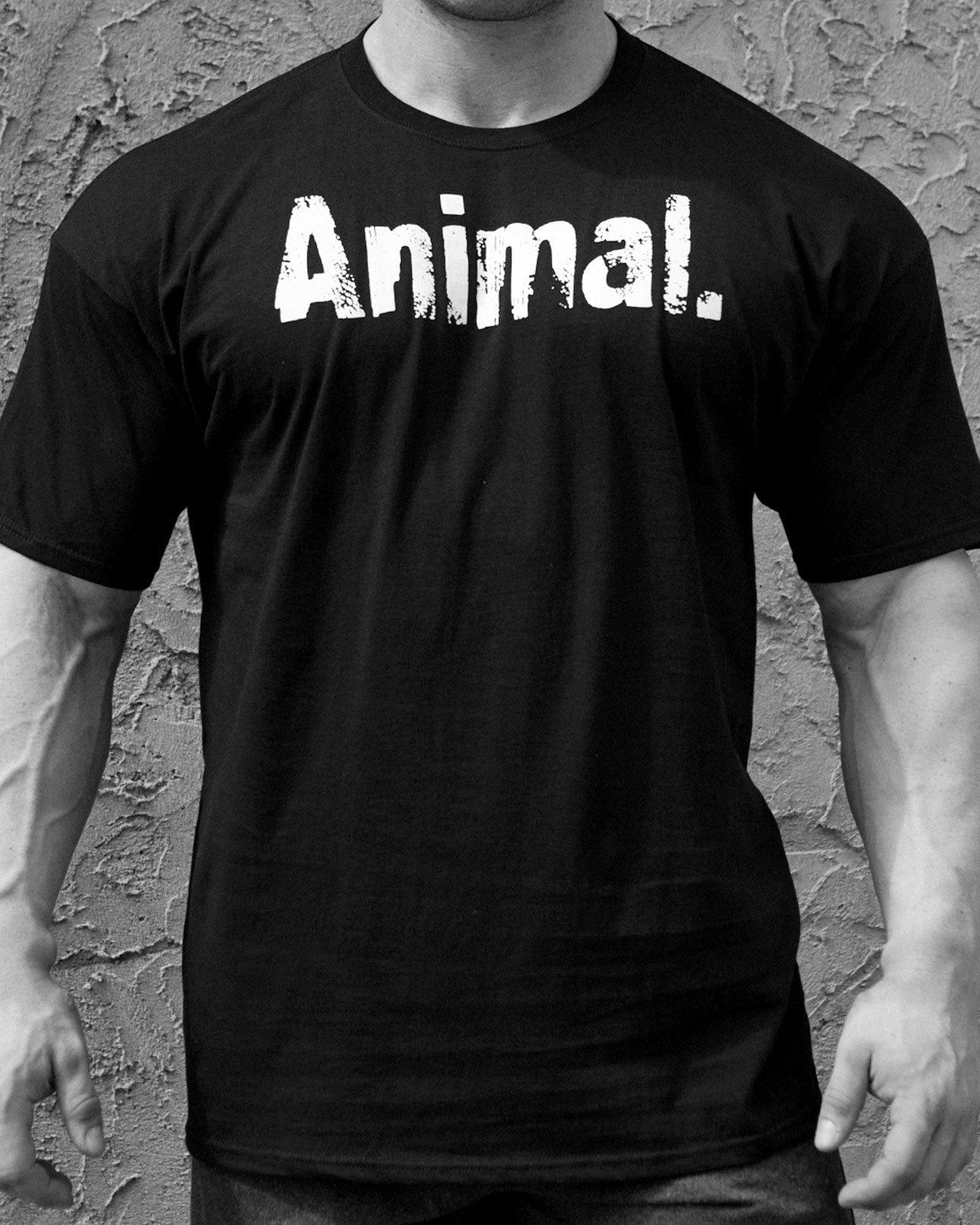 CLASSIC ANIMAL BLACK TEE