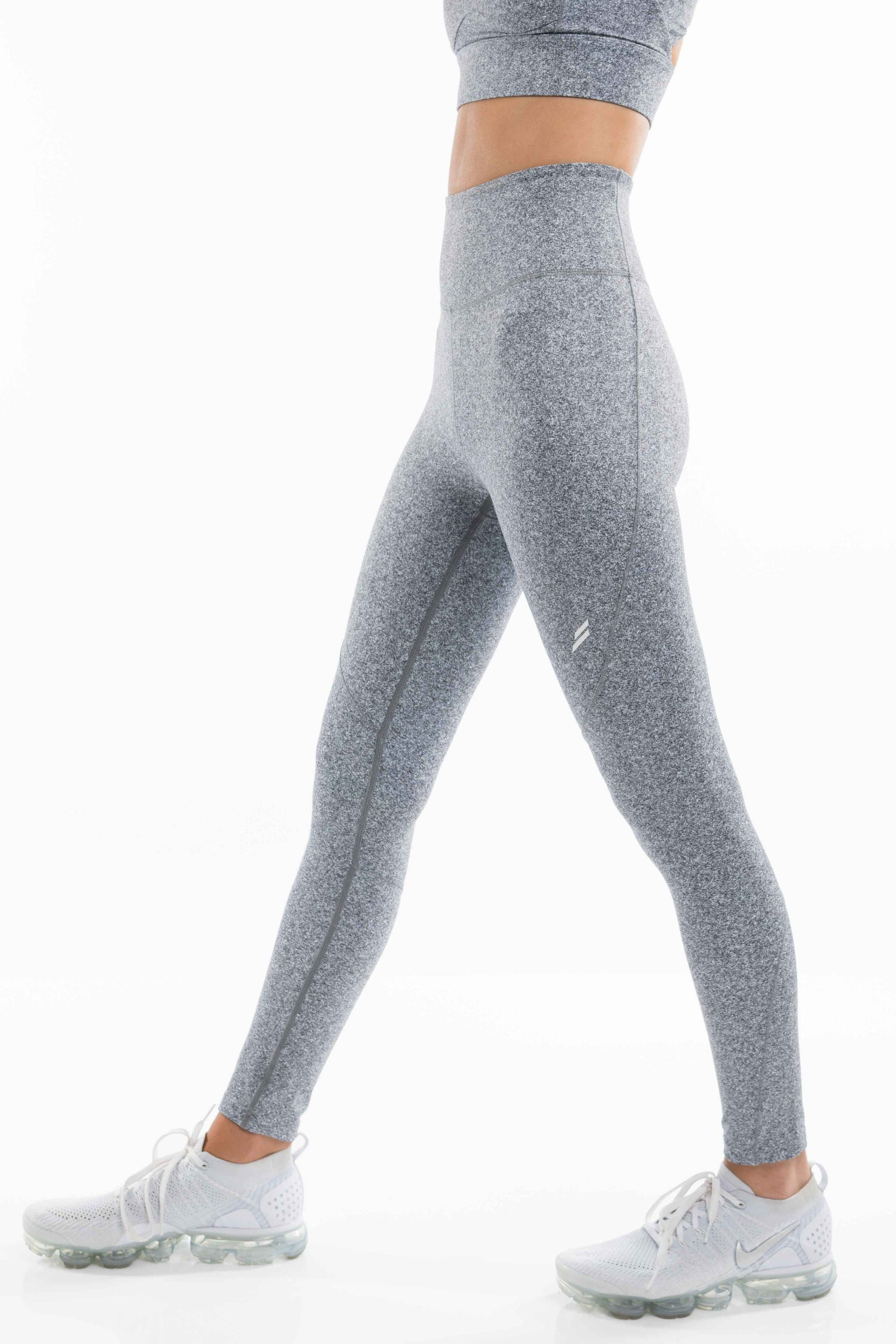 DYE Excel Leggings - Marl Grey