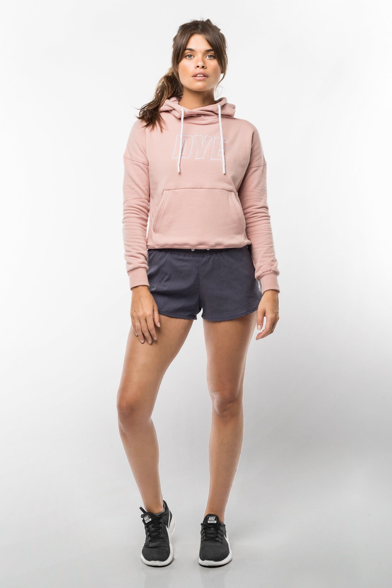 DYE Icon Hoodie - Dusty Pink