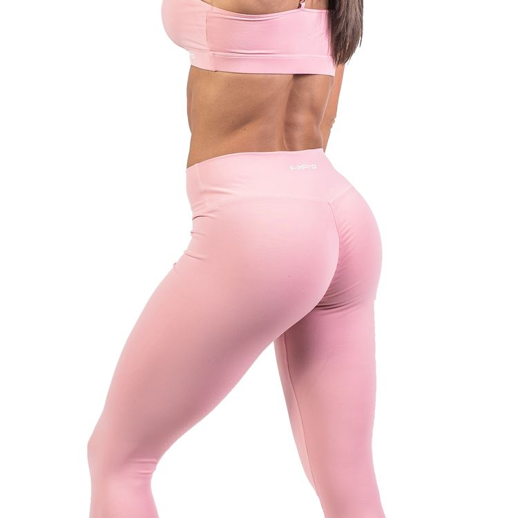 FitPro Candy Crush Scrunch Leggings - Pink