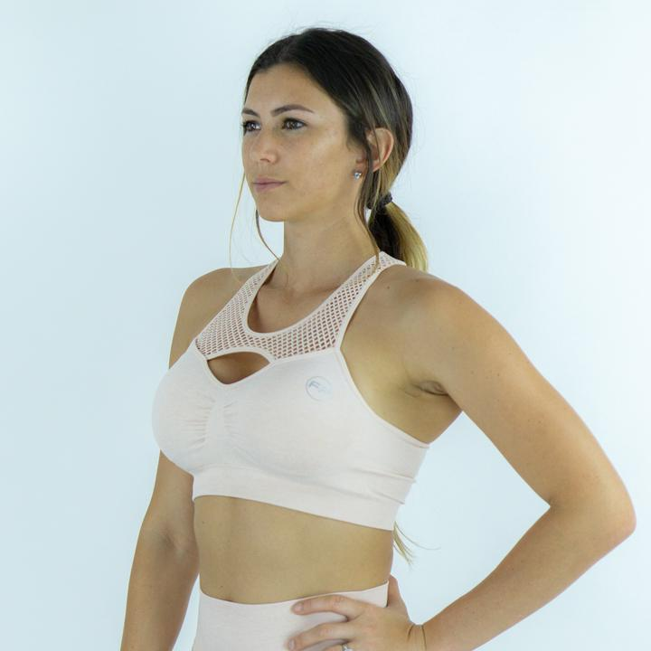 FitPro Committed Seamless Sports Bra - Rose Pink