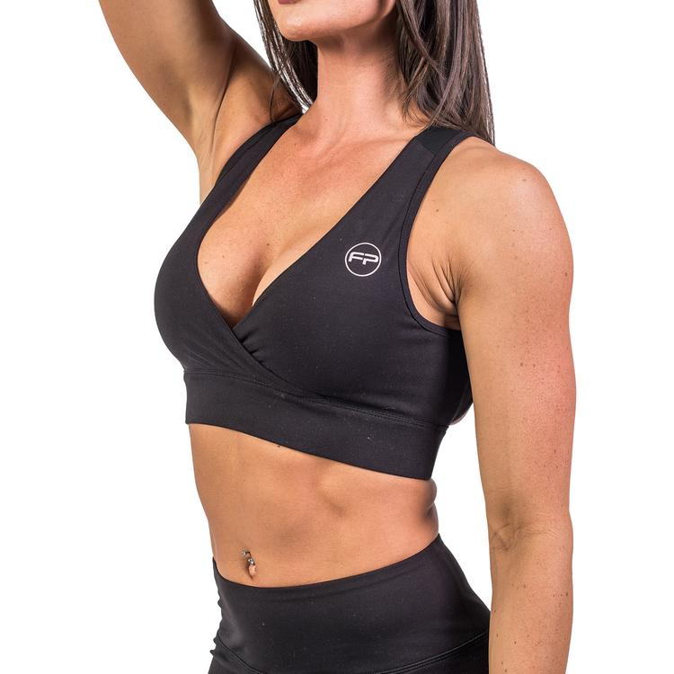 FitPro Flawless Sports Bra - Jet Black