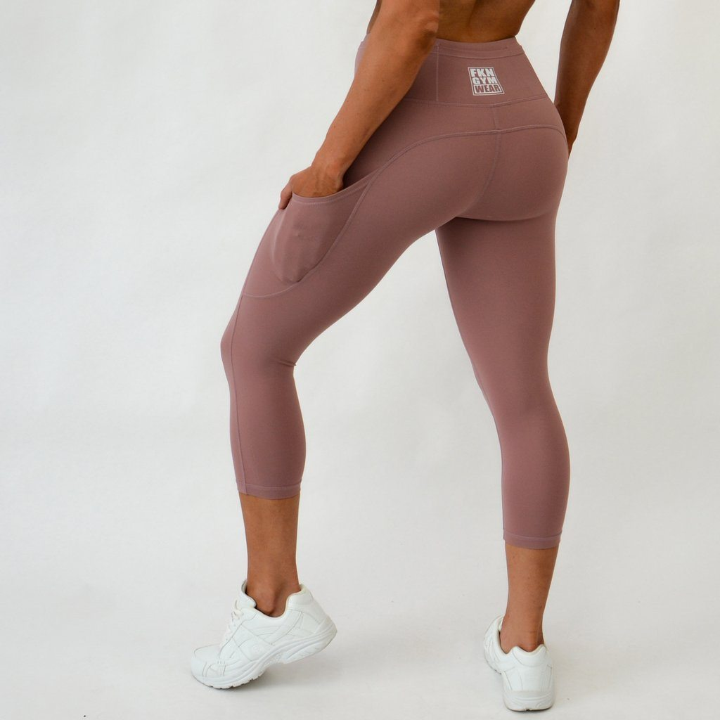 FKN Gym Wear A2G Gym 7/8 Leggings | LILAC