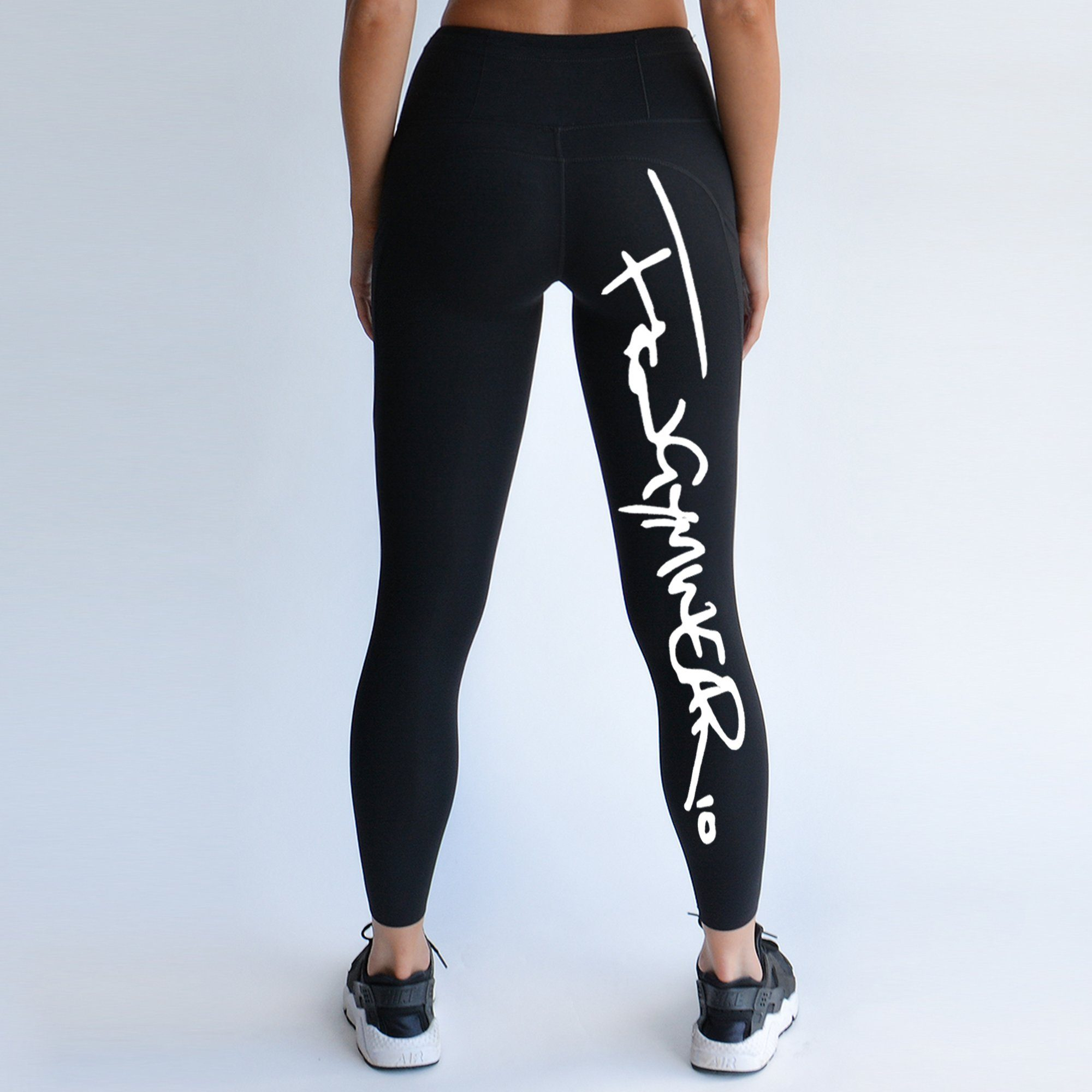 FKN Gym Wear A2G Signature Leggings - Black