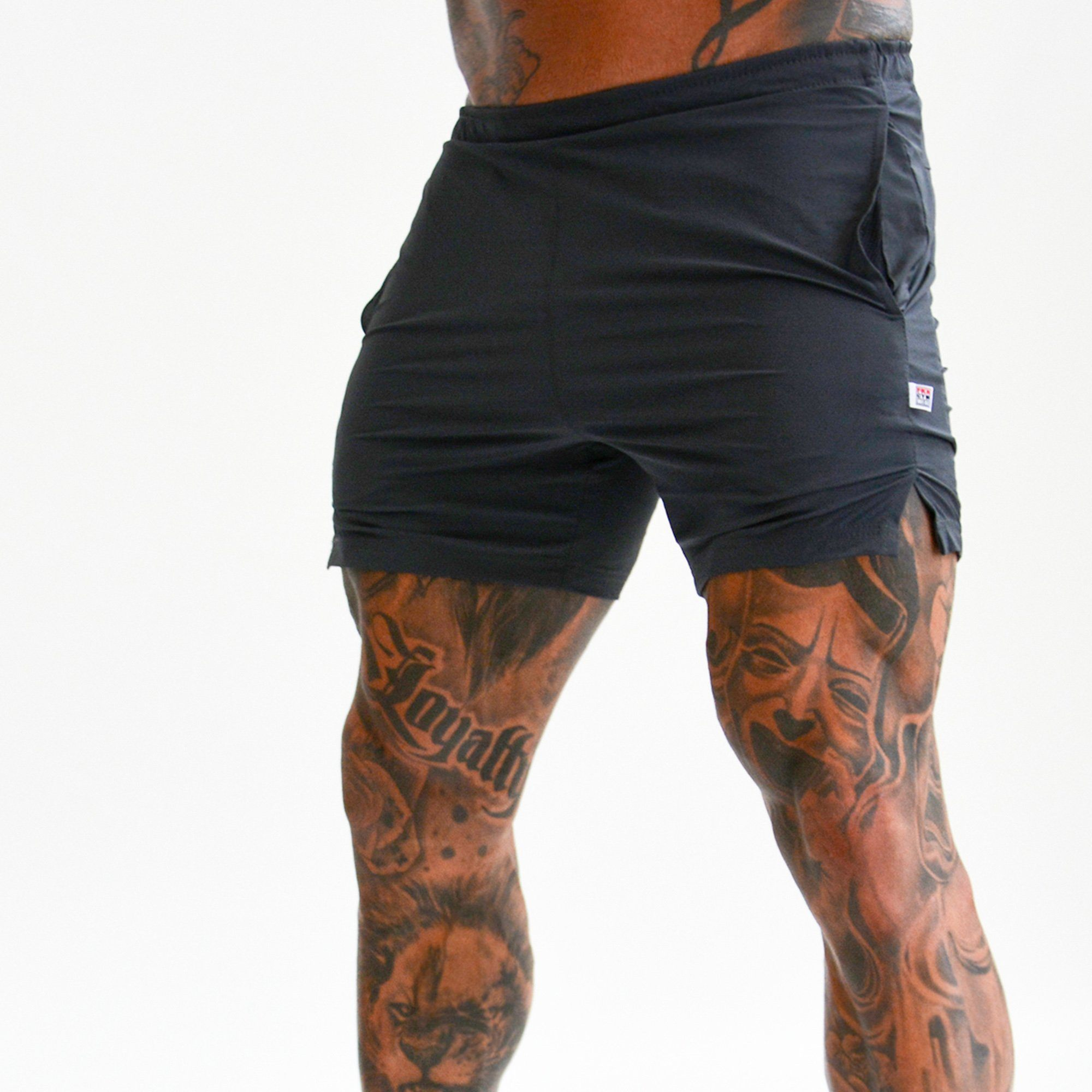 FKN Gym Wear Apollo Shorts - Grey