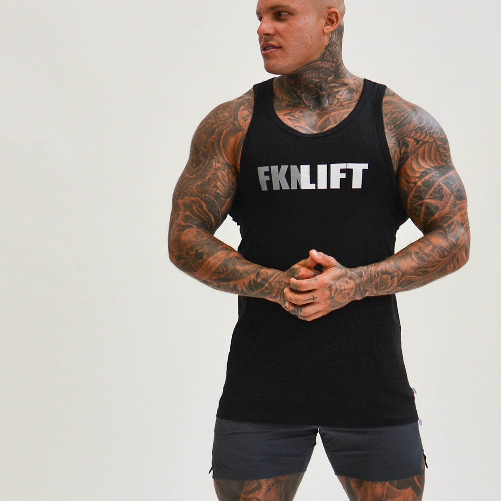 FKN Gym Wear FKNLIFT Singlet - Black