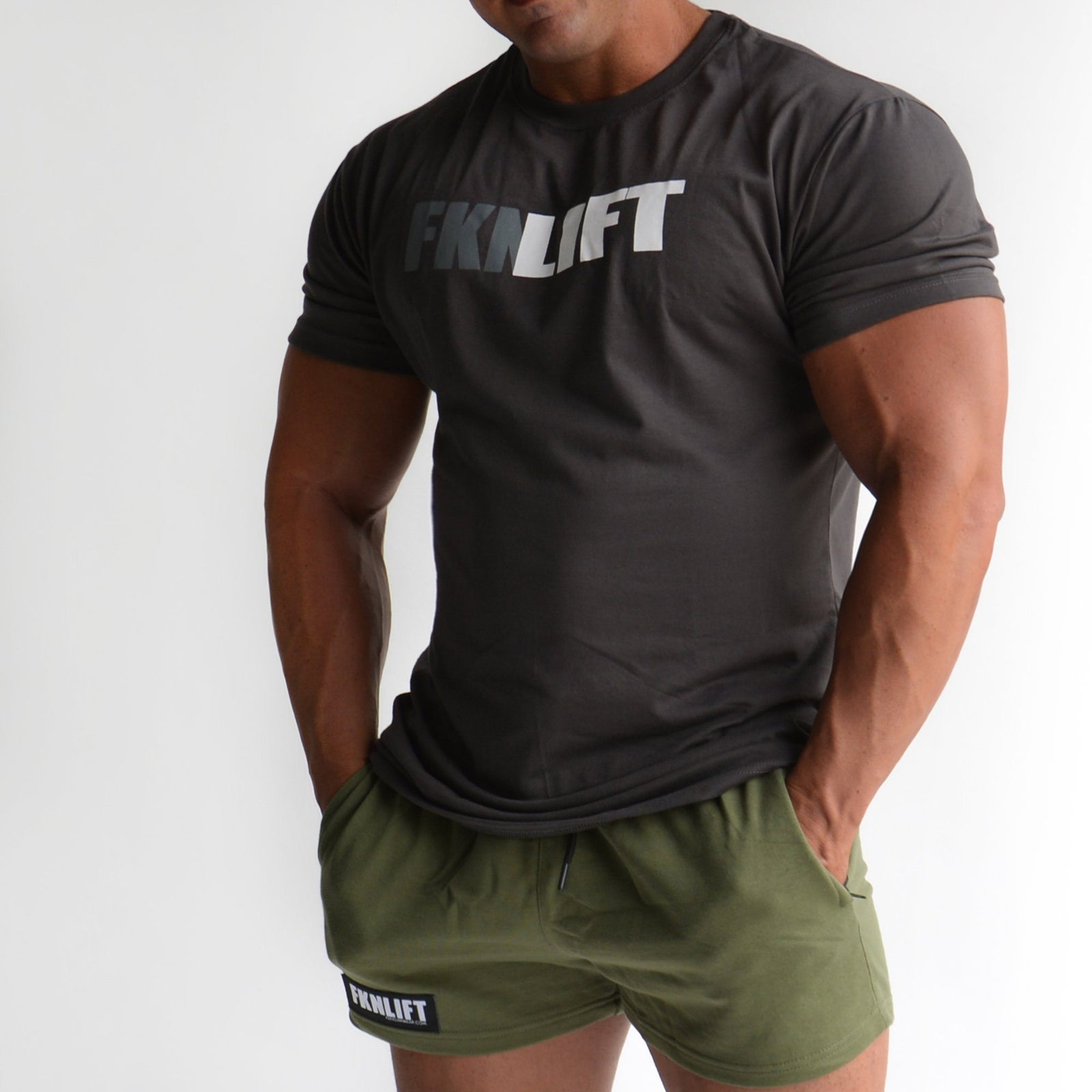 3aec182e521 FKN Gym Wear FKNLIFT Tee - Charcoal