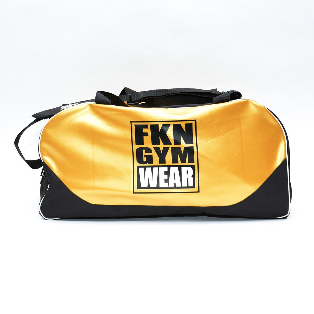 FKN Gym Wear Gym Bag - Gold