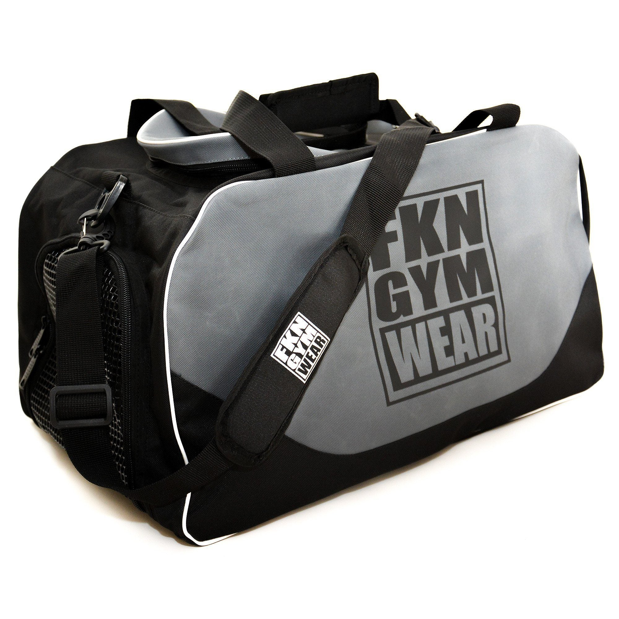 FKN Gym Wear Gym Bag - Grey
