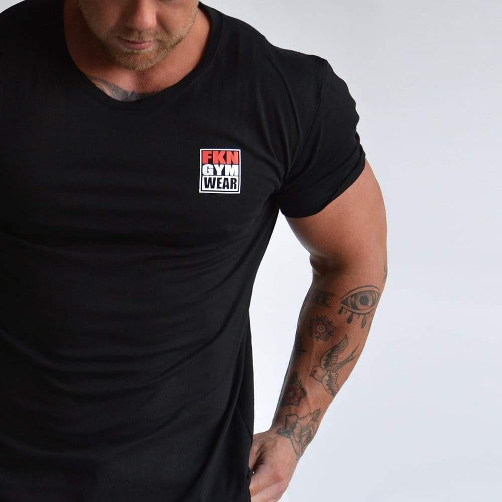 FKN Gym Wear Logo Tee - Black