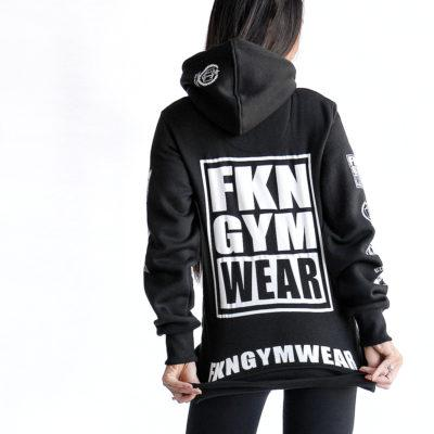 FKN Gym Wear Women's Hoodie - Black