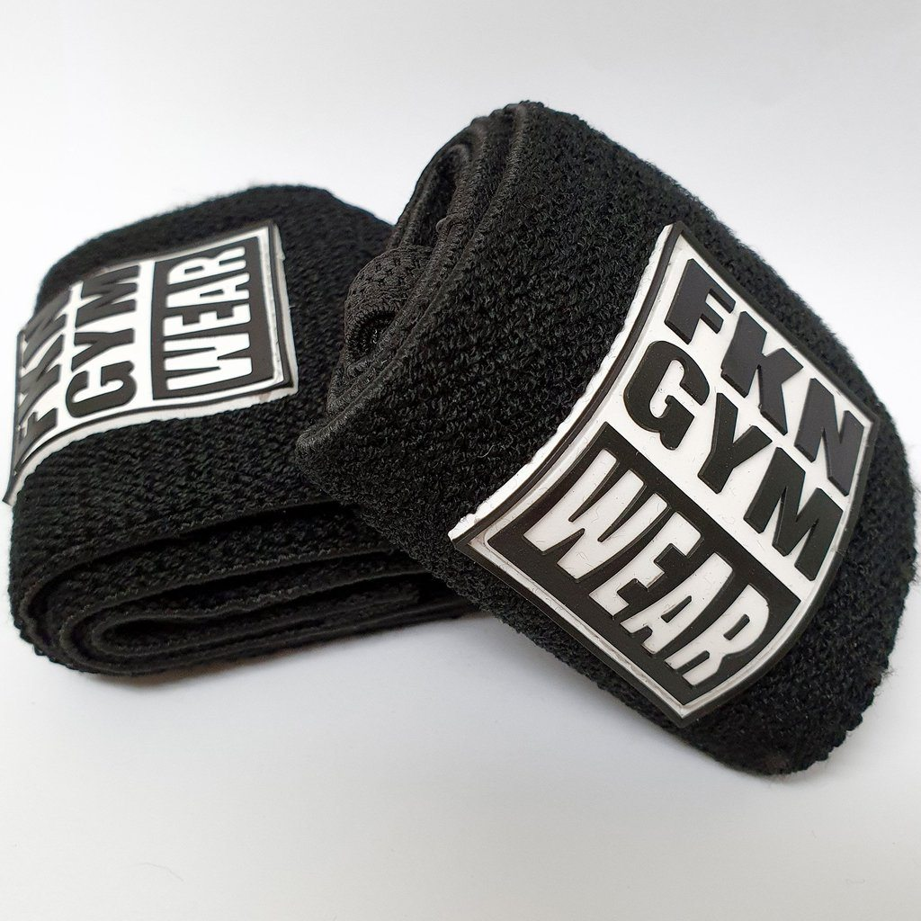 FKN Gym Wear Wrist Wraps | BLACK