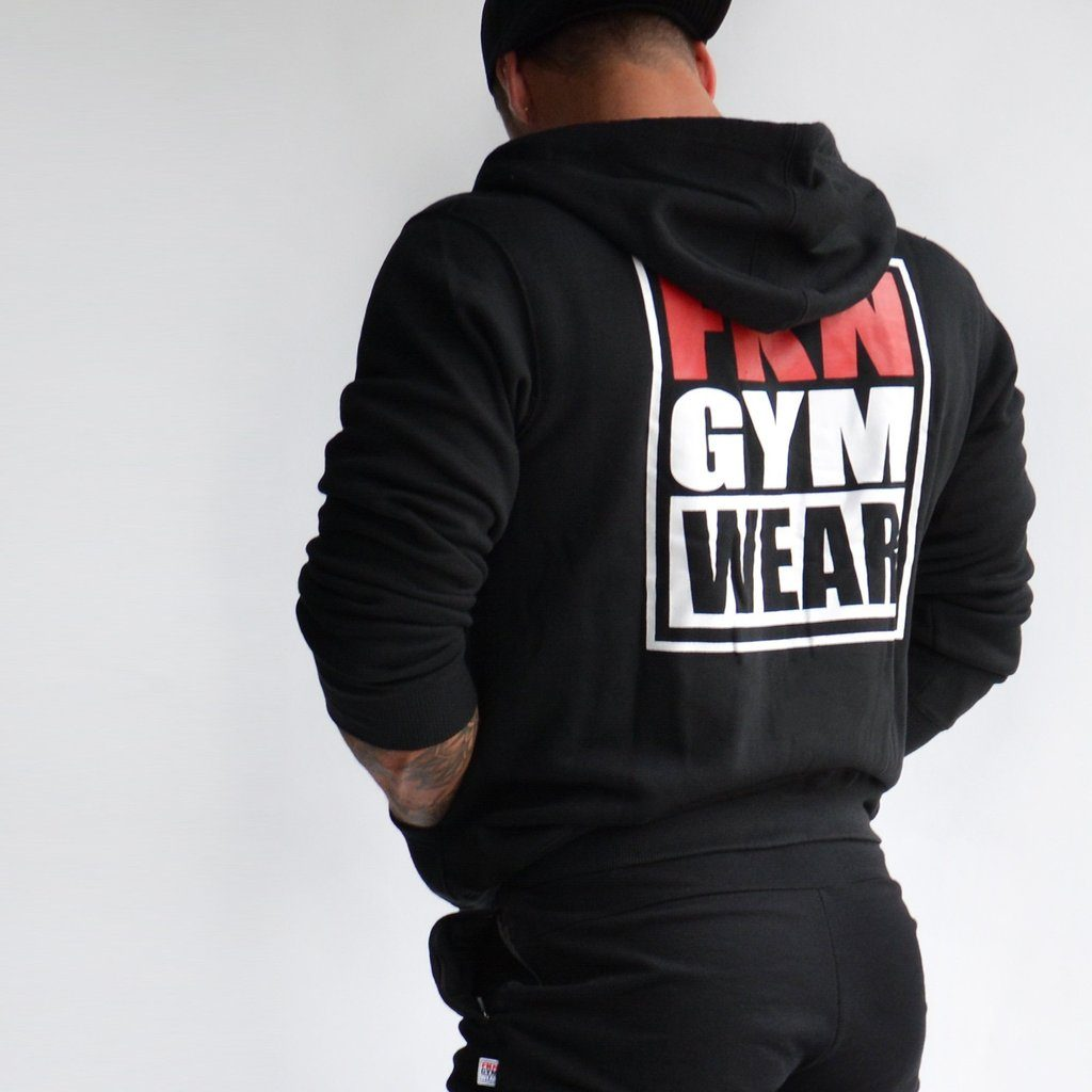 FKN Gym Wear Zip-Up Hoodie - Black