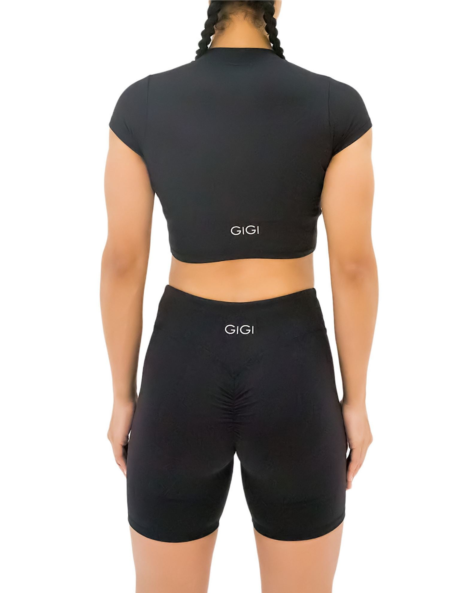 GIGI Lina Bike Shorts - Black
