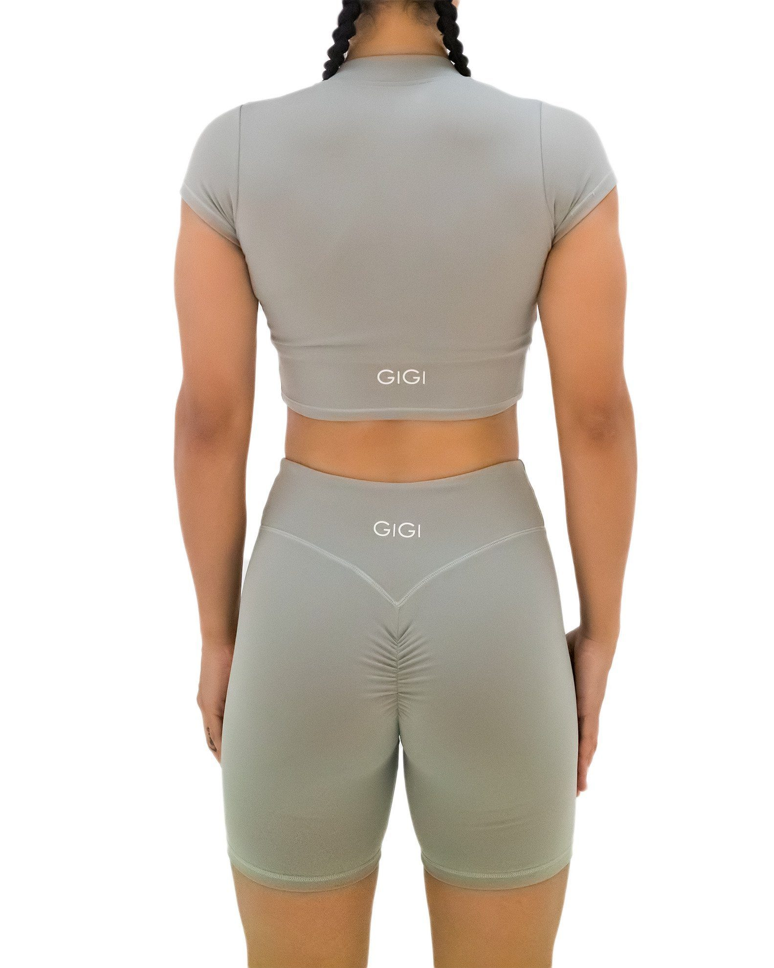 GIGI Lina Bike Shorts - Grey