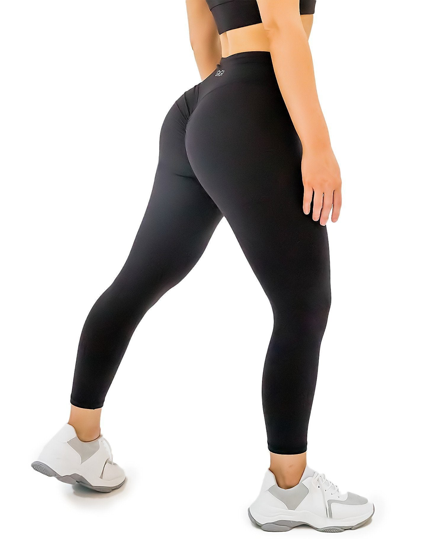 GIGI Line 7/8 Leggings - Black