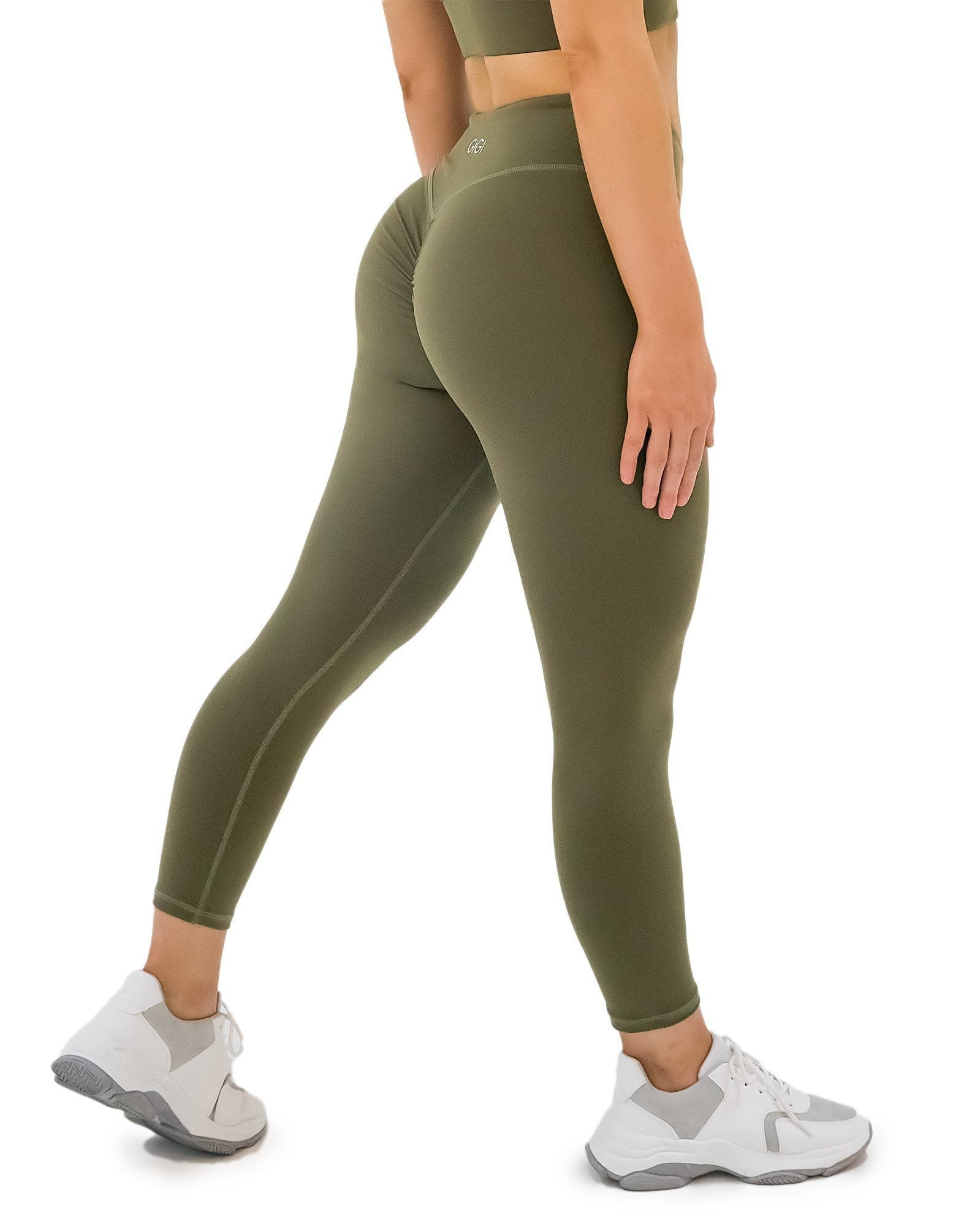 GIGI Line 7/8 Leggings - Khaki