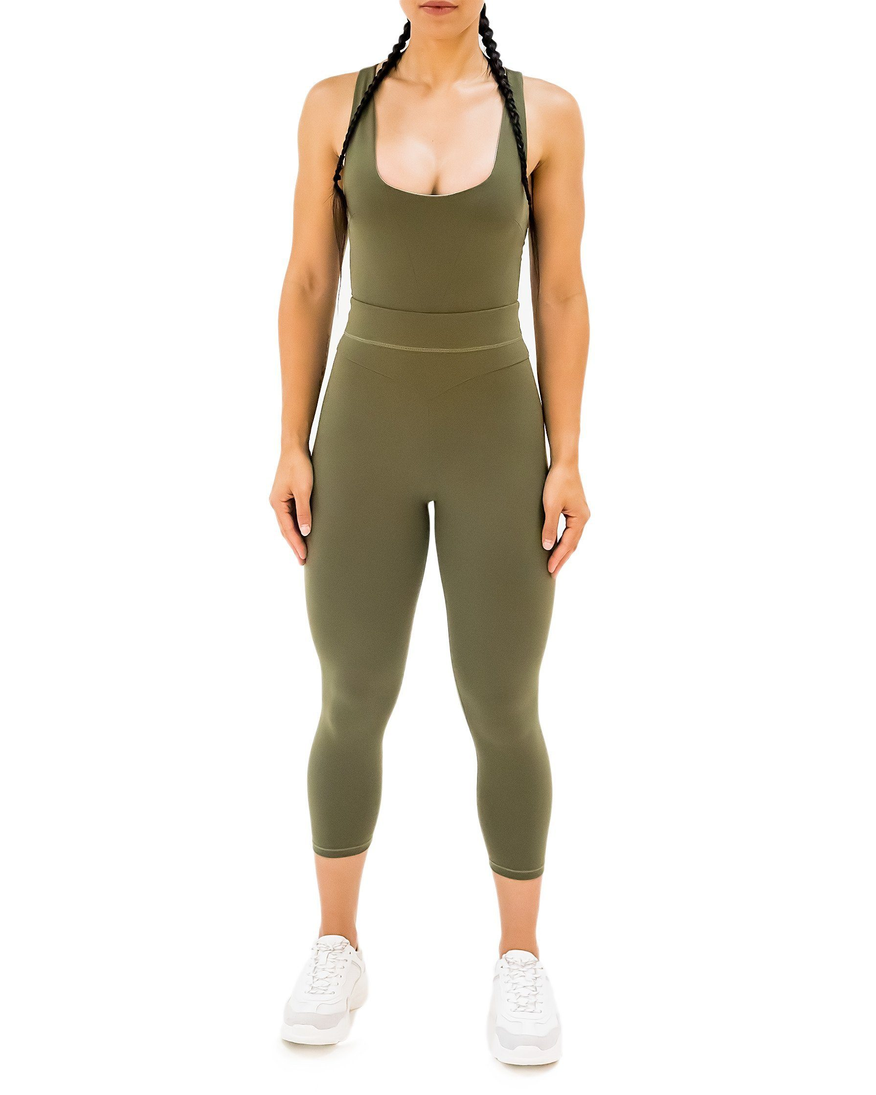 GIGI Rose Jumpsuit - Khaki