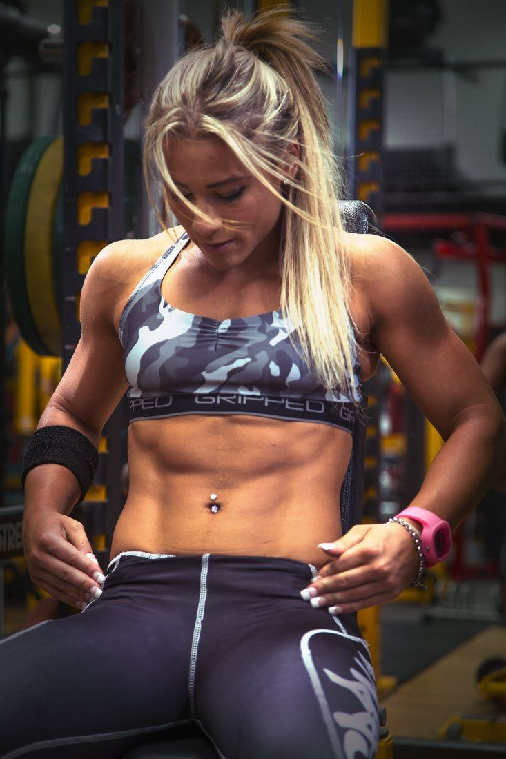 Gripped Athletic Sports Bra