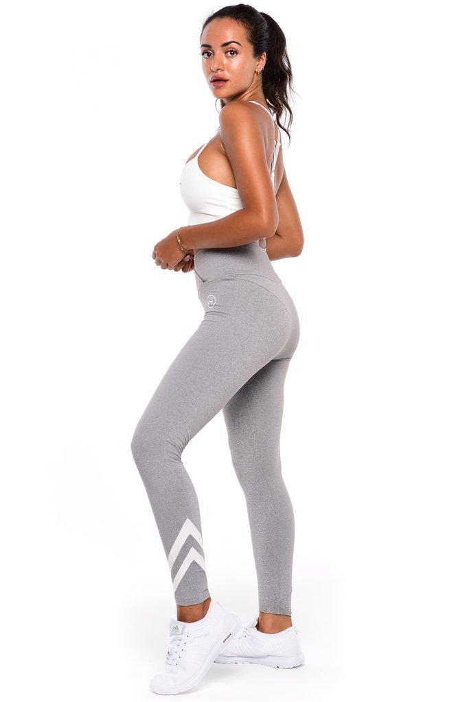 HAWT Extra High Waisted Tights - Grey