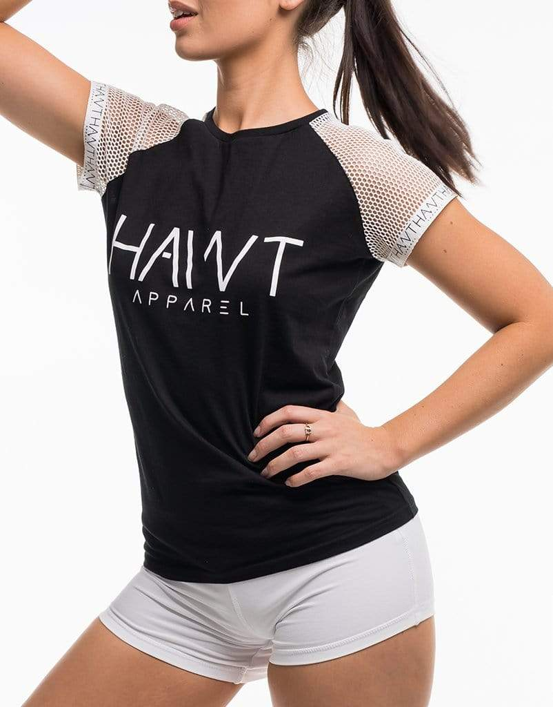HAWT Signature Apparel Tee - Black
