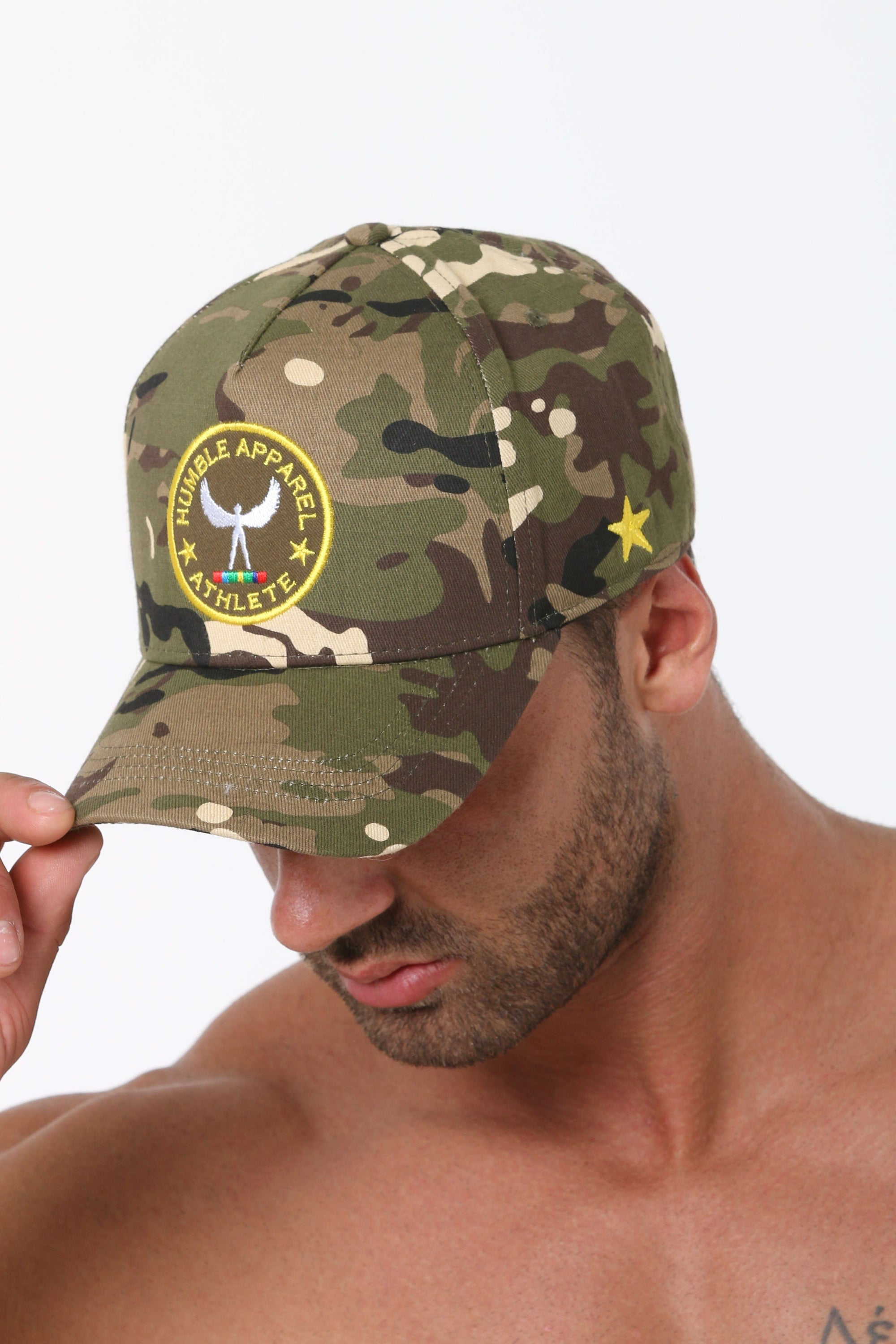 Humble Athlete A-Frame Hat - Camo