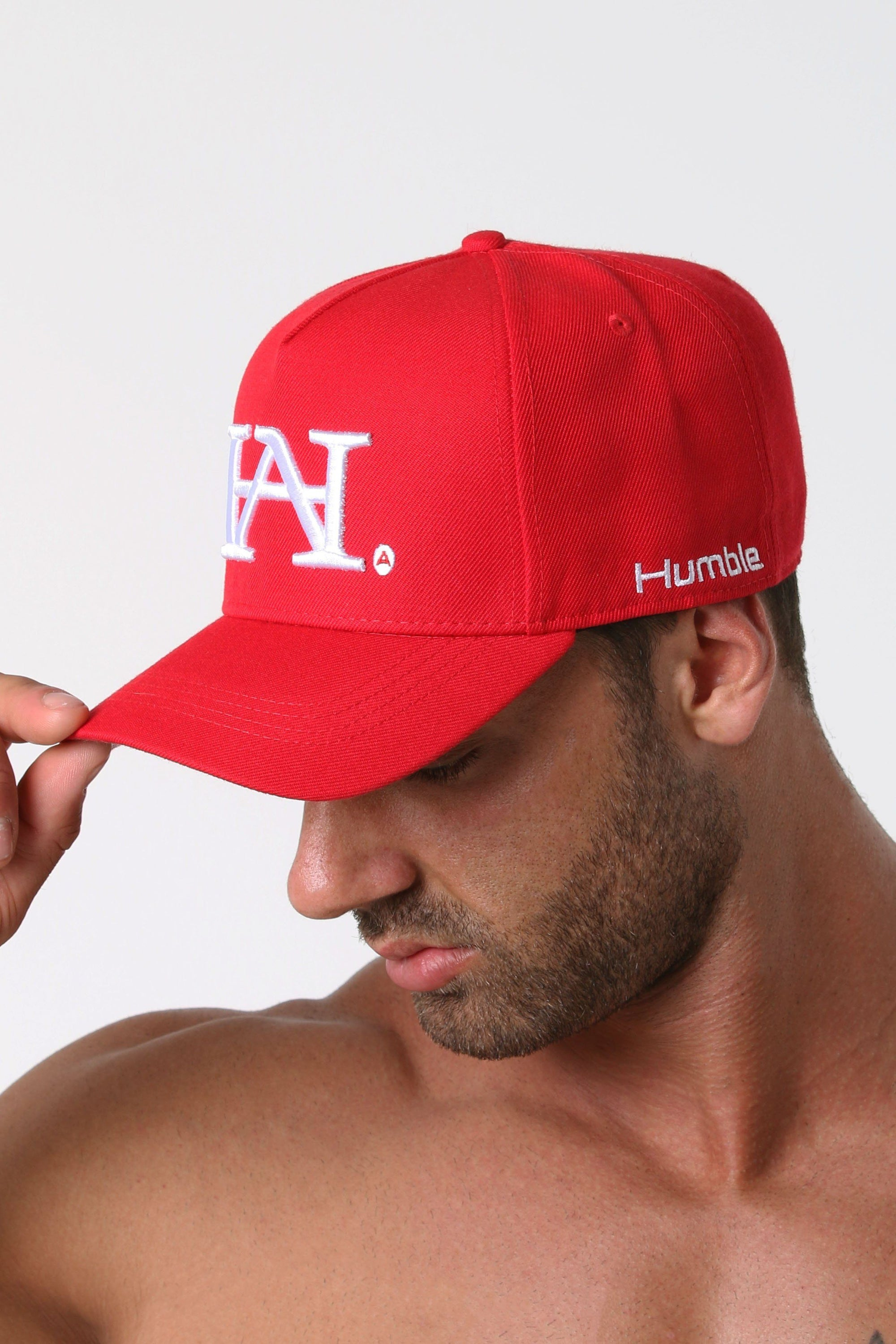 Humble H.A. A-Frame Hat - Red