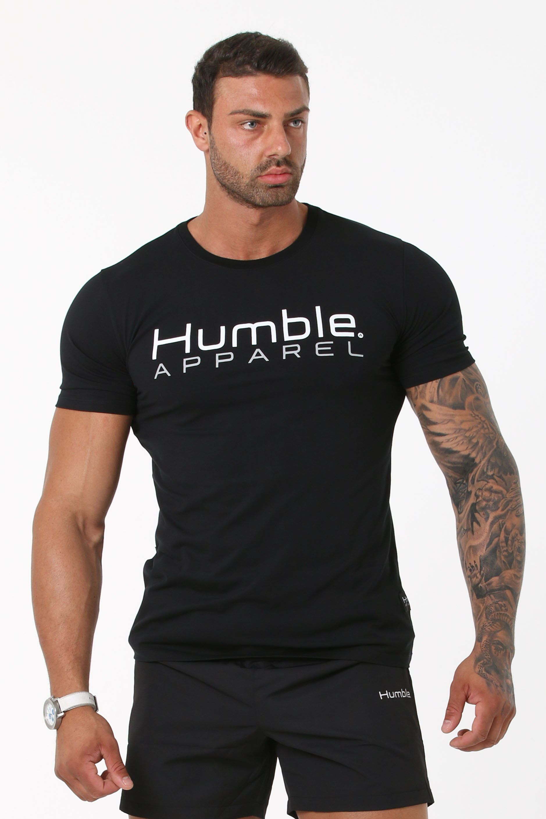 Humble Reach Tee - Black