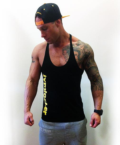 Jym Locker Basic Stringer - Gold