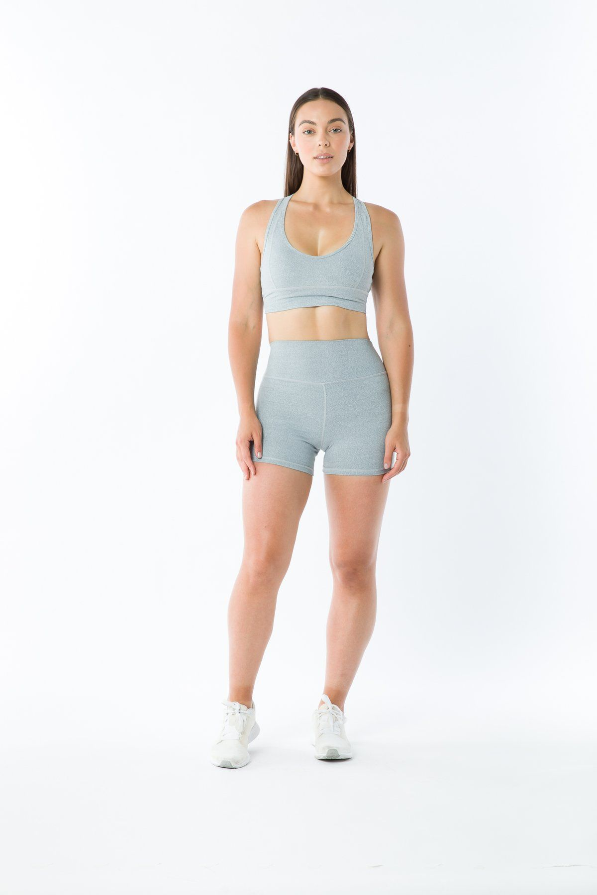 Kynd 01 Sports Bra - Grey Marle