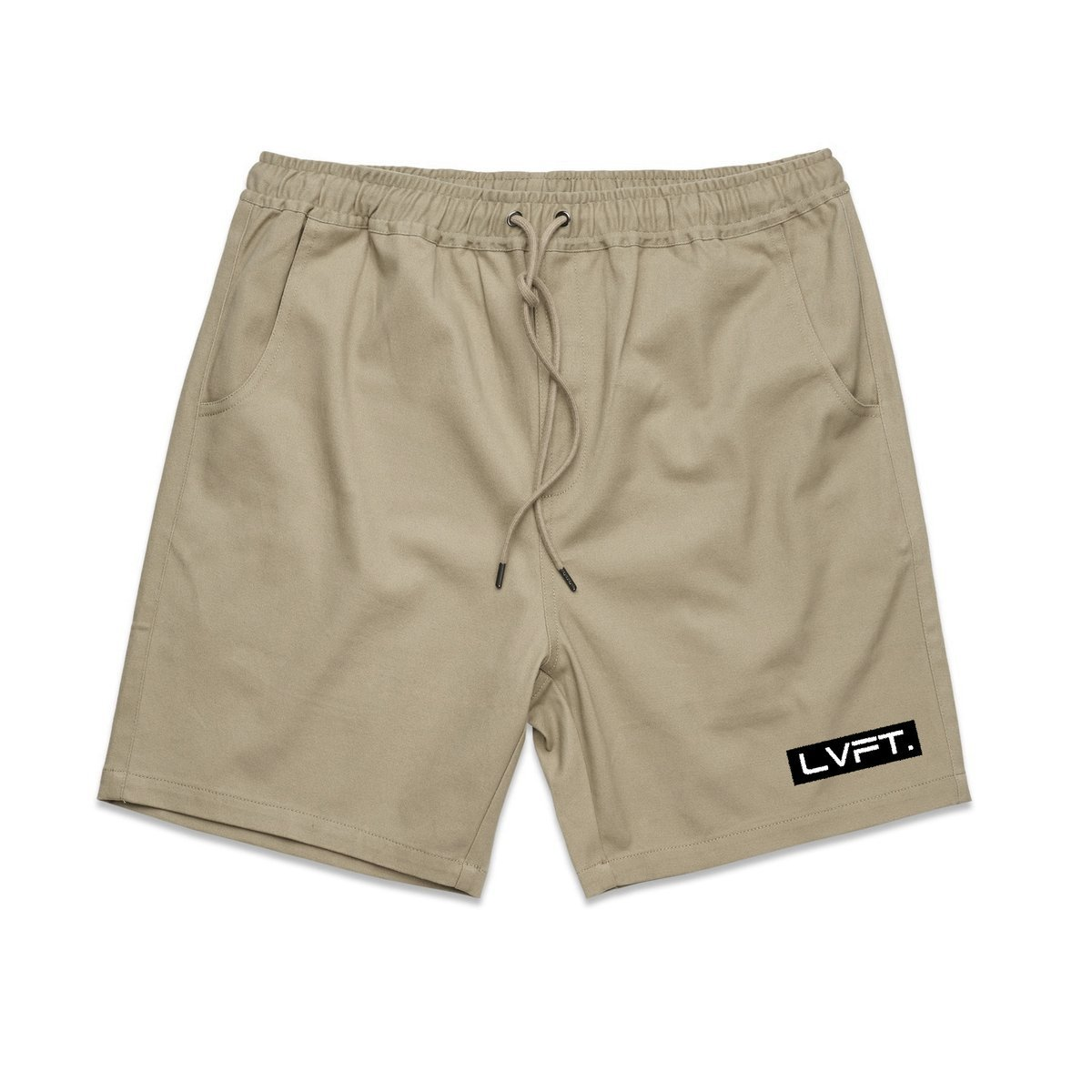 Live Fit Lifestyle Shorts-Khaki