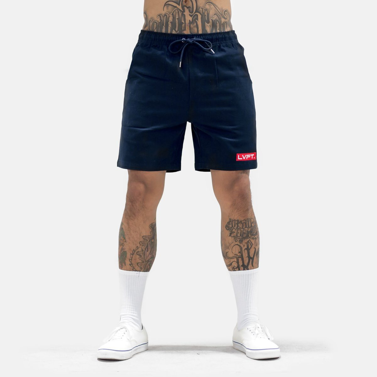 Live Fit Lifestyle Shorts-Navy
