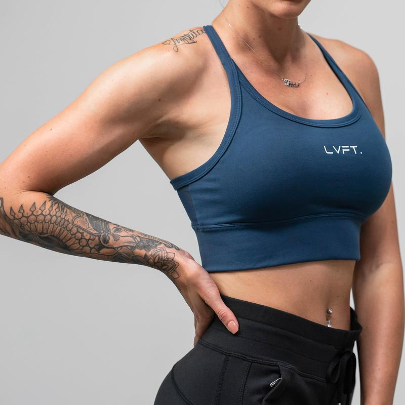 LIVE FIT ROGUE SPORTS BRA- AMPARO BLUE