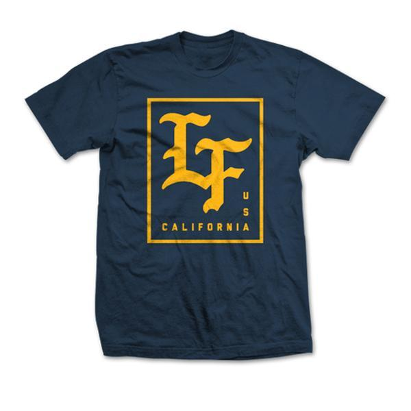 Live Fit Stamped Tee - Midnight Navy
