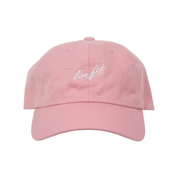 Live Fit Strike Cap - Pink