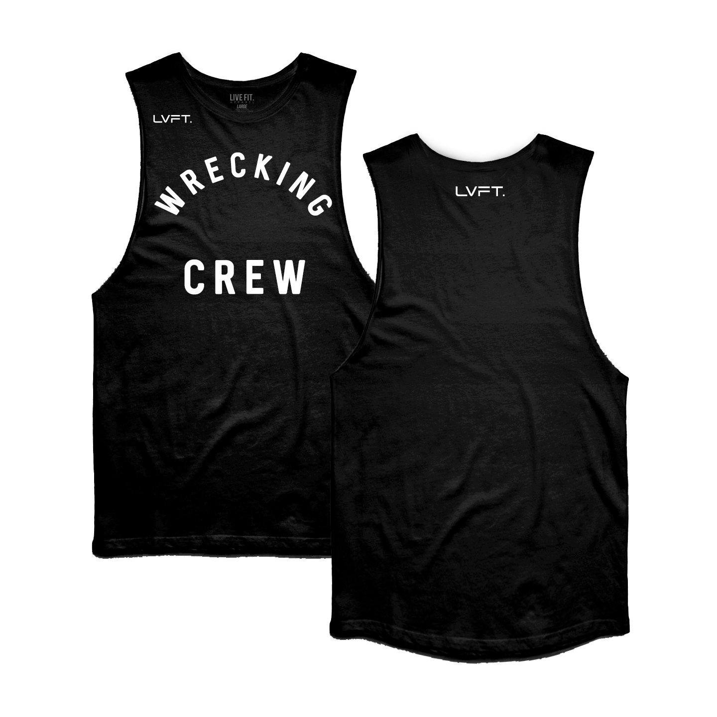 Live Fit Wrecking Crew Tank - Black