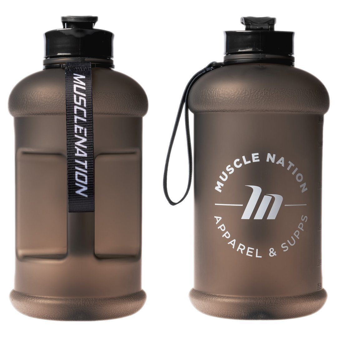 Muscle Nation 1.3L Smart Jug - Frosted Black