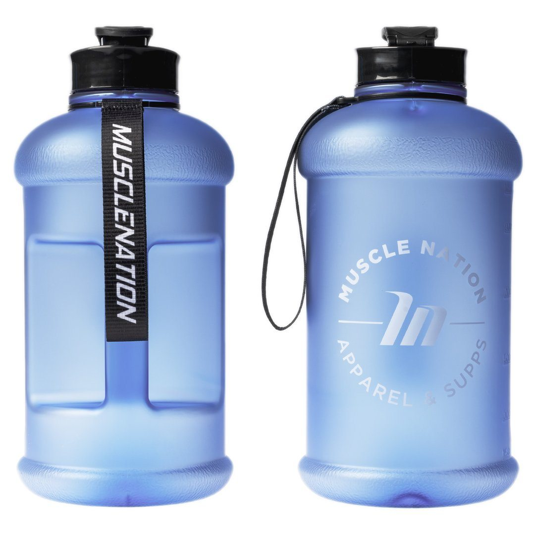 Muscle Nation 1.3L Smart Jug - Frosted Blue